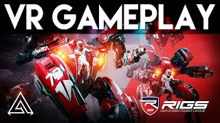 RIGS Mechanized Combat League Gameplay Part 1 - Offline Career Mode