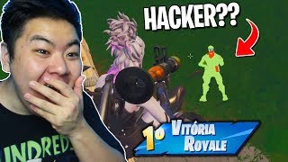 THE ENEMY WAS INVISIBLE THE WHOLE GAME!! * BUGOU the POWER *-Fortnite Battle Royale