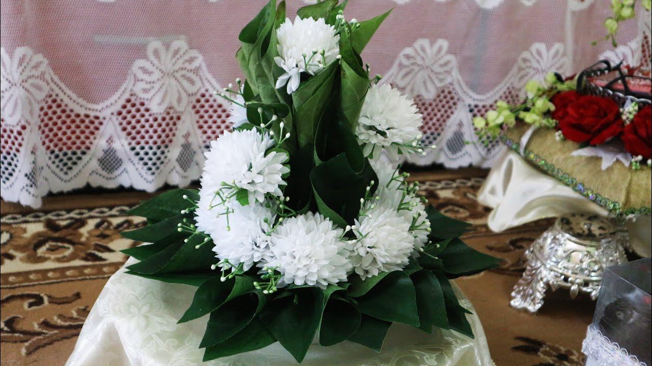 Merangkai Bunga Mawar Dengan Daun Pandan Hantaran Part1 By Dedley