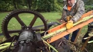 Making Sorghum Molasses in Cane Hill, Arkansas