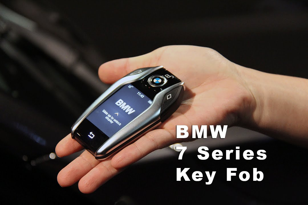 BMW New 7 Series Key Fob Fuctions