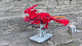 Dragon LEGO Kinetic Sculpture