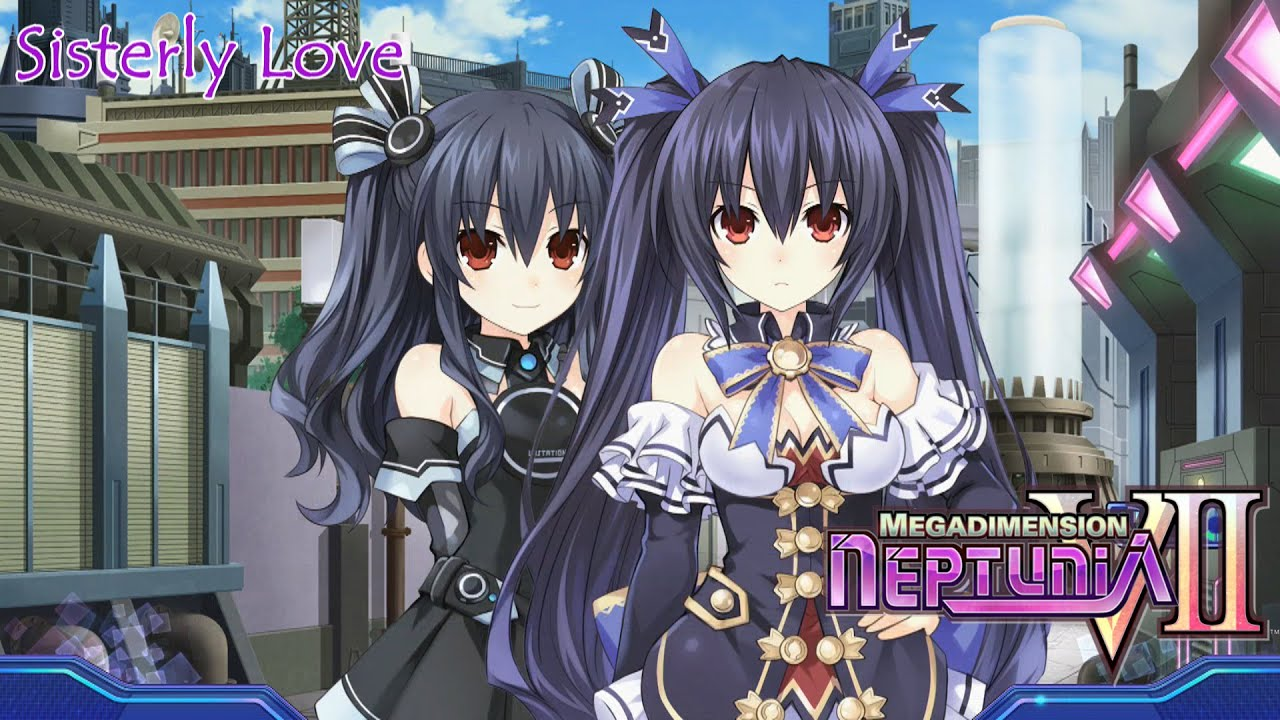 Lewd Anime Girls Wallpaper Noire Amp Clone Noire Sister Love Event Scenes