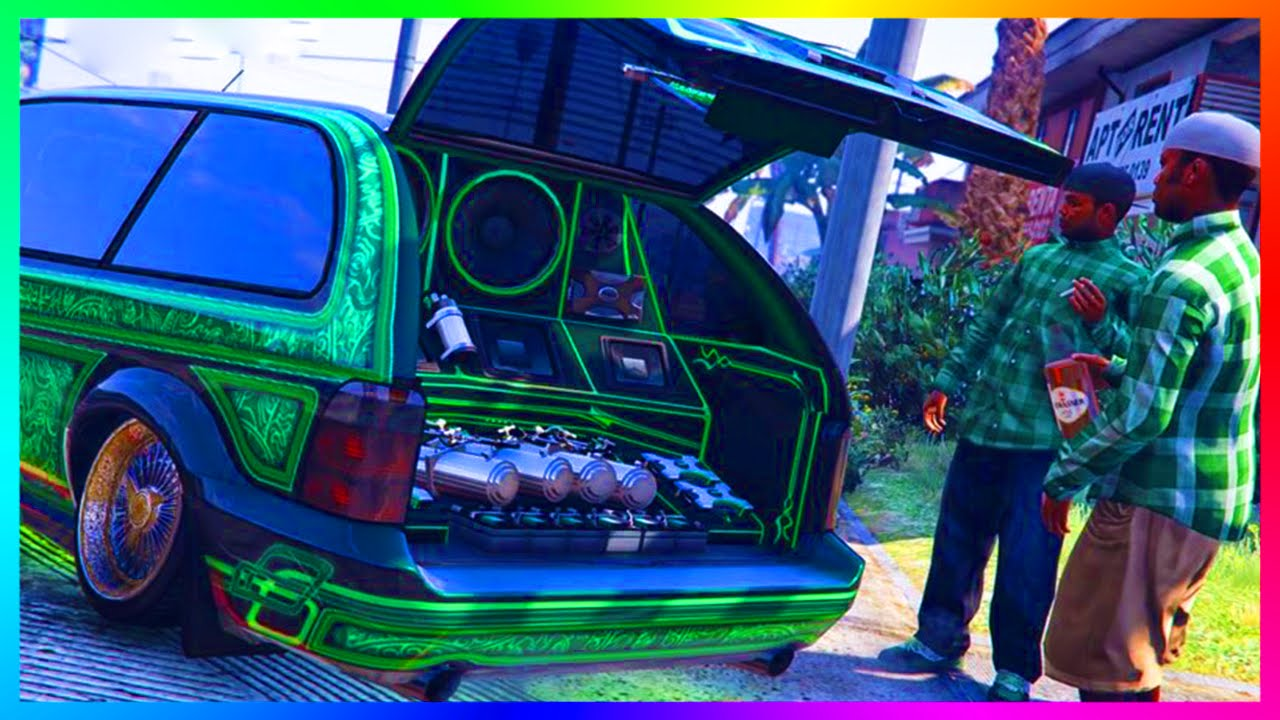 Gta 5 Dlc Update Minivan Custom Showcase Car Show New Inch By 2x Money Making Spree You