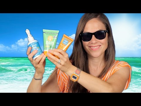 Best Natural Sun Screen - Sun Cream I Recommend For Babies, Kids, and Adults