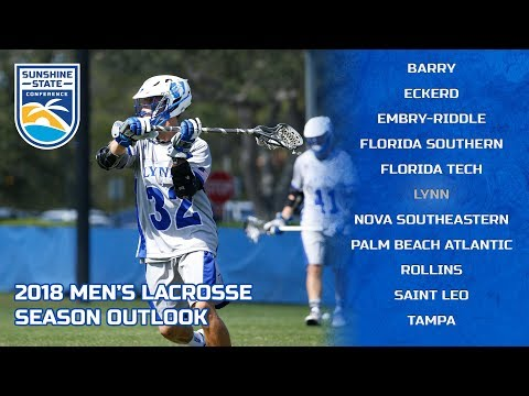 Lynn University | 2018 Men's Lacrosse Season Outlook