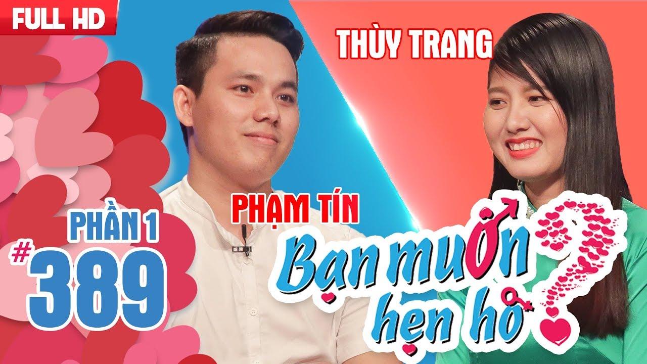 Tìm bạn gái cho soái ca KTV Vật lí trị liệu mắc BỆNH NGHỀ NGHIỆP | Phạm Tín - Thùy Trang | BMHH 389