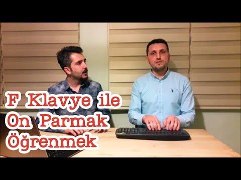 F Klavye ile On Parmak Öğrenmek Zor mudur?