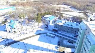 Челябинский храм вид с неба