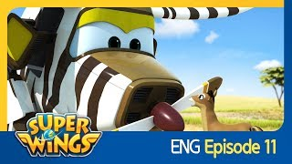 [Superwings] EP 11 - Race Against Time(ENG)