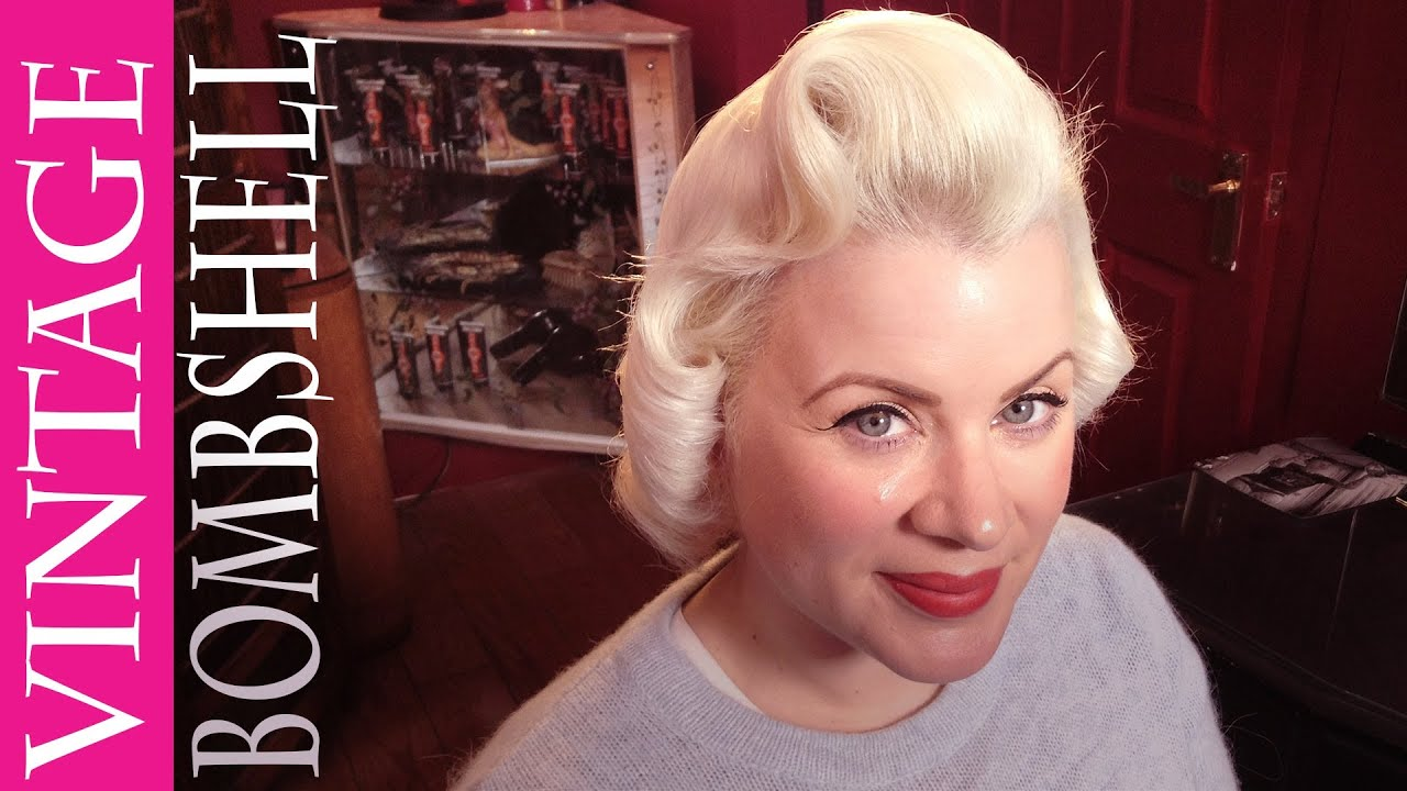 Vintage Hair How To Blonde Bombshell Youtube