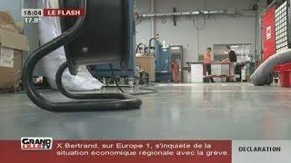 Forte inondation à l'imprimerie Adlis