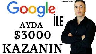Google'dan Ayda 3.000 $ Nasıl Kazanırım (BİLİNMEYEN YÖNTEM!) | İNTERNETTEN NASIL PARA KAZANILIR ?