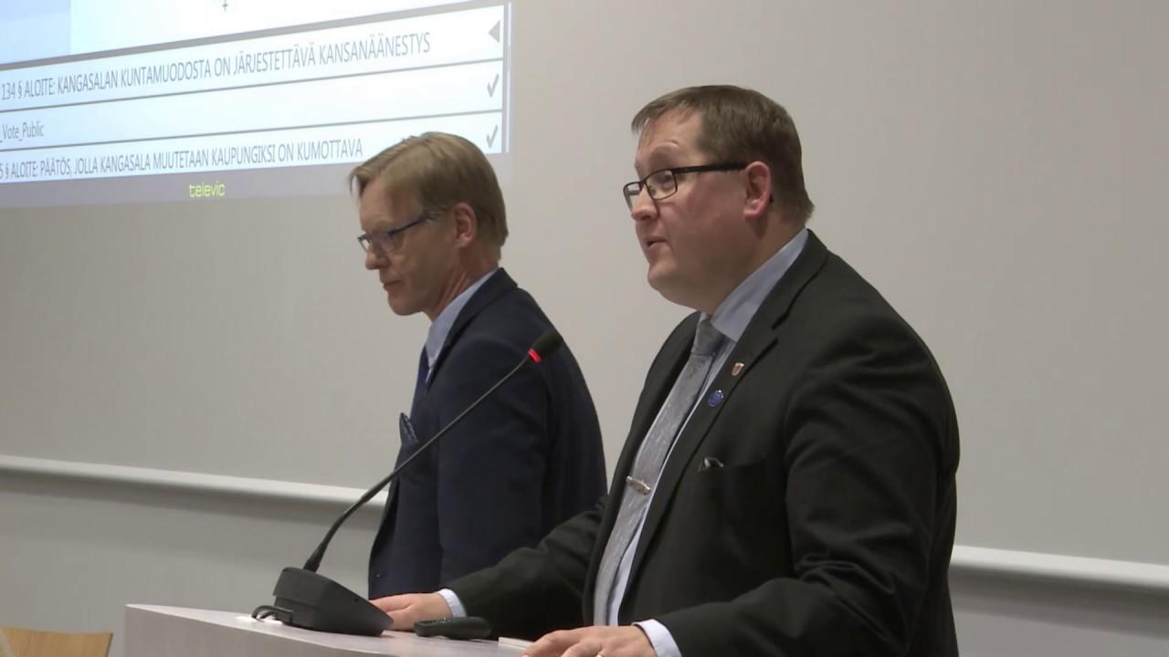 Kangasalan valtuuston marraskuun 2017 kokous