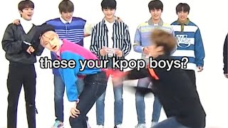 the boyz being the boyz for almost 13 minutes