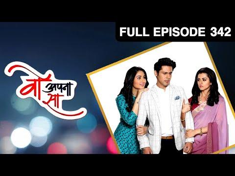 Woh Apna Sa   Hindi Serial   Full Episode - 342   Disha Parmar, Sudeep Sahir   Zee TV Show