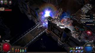 Path of Exile: Act 8! Lunaris Temple (Witch lvl 64) ( Streamed 12-3-17)