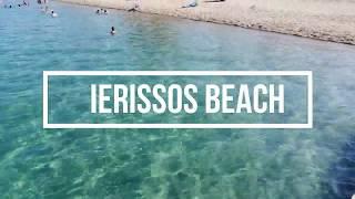 Ierissos beach, Chalkidiki, Greece