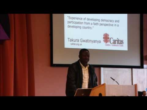 Takura Gwatinyanya Talks about Developing Democracry And Participation In A Developing Country