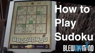 Learn how to play Sudoku