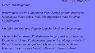 Deutsch Lernen Briefe Schreiben Briefformen