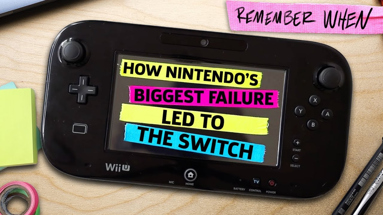 How Nintendo's Greatest Failure Led To The Switch - GameSpot