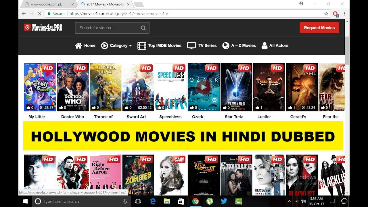 best website to download hollywood movies in hindi