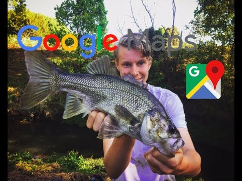 Using GOOGLE MAPS To Find Secret Fishing Spots (AUSSIE BASS)