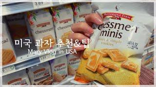 미국 직장인 Vlog|미국 과자 추천&초콜릿 싸…