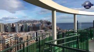 Купить недорогой пентхаус с видом на море в Бенидорме. Недвижимость в Испании(, 2016-01-12T22:24:18.000Z)