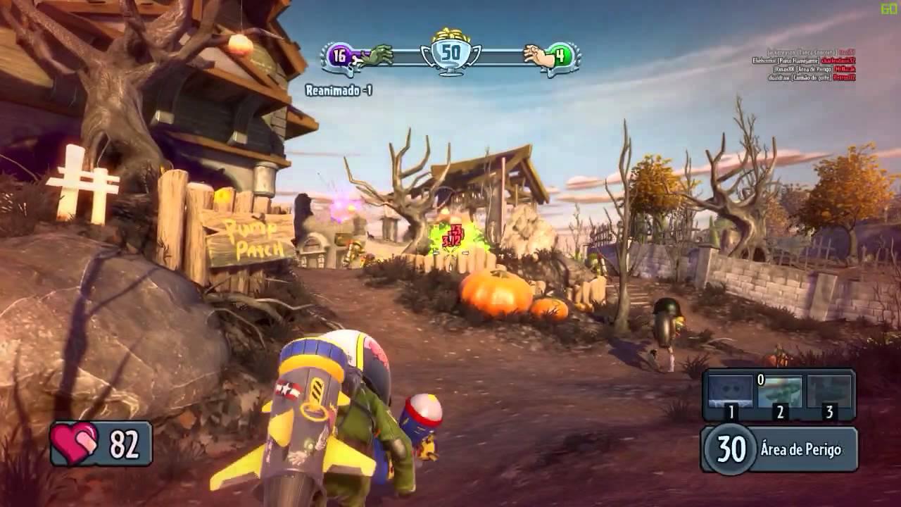 Plants vs Zombies Garden Warfare - Soldado Aéreo - PC Gameplay - YouTube