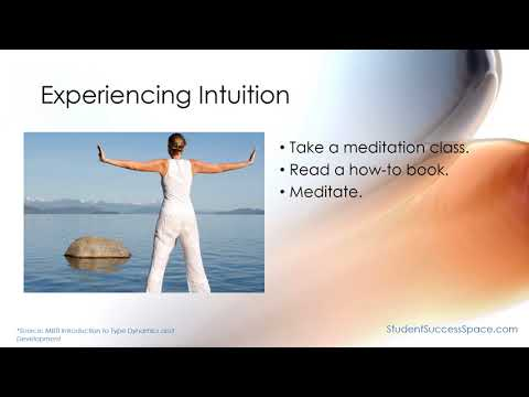 MBTI - Experiencing Introverted Intuition - INTJ and INFJ