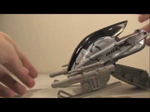 GI Joe Rise of Cobra Movie Rockslide ATAV with Snow Job Vehicle Toy Review