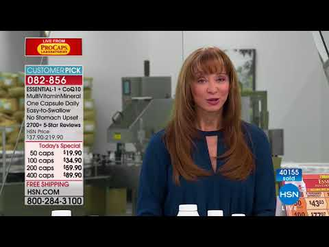 HSN   Andrew Lessman Live From ProCaps Laboratories 02.25.2018 - 09 PM