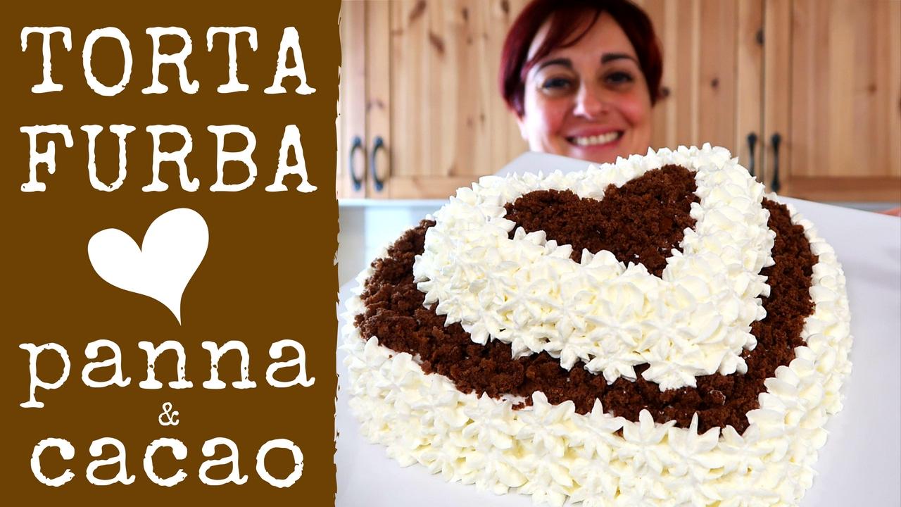 Torta furba panna e cioccolato ricetta facile chocolate for A casa con benedetta