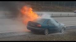 CAR INSURANCE?! OUR CAR EXPLODES AND BURNS (ORIGINAL)