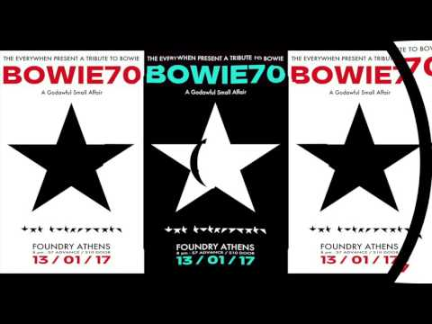 Hey! Dudes! Join Us As We Celebrate David Bowie's 70th Birthday. Jan. 13. Athens.