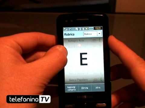 Samsung M8800 Pixon videoreview da telefonino.net