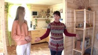 видео Строительство домов и бань из бруса в г. Валдай под ключ. Деревянные дома в Новгородской области недорого
