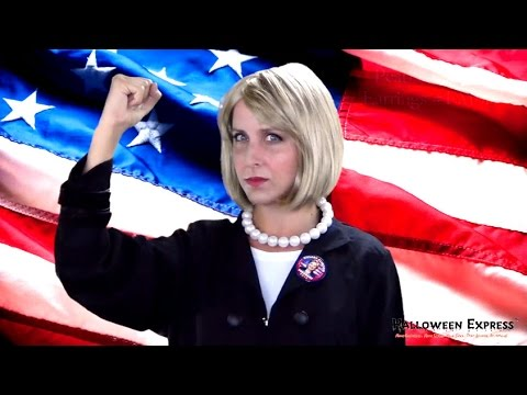 HILLARY CLINTON // COSTUME MAKEUP HOW-TO