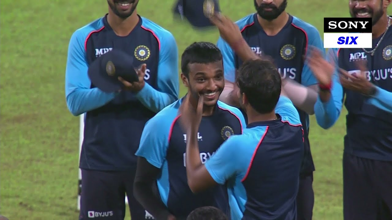 Team India's players get capped | Heart-warming video from SL v IND 2nd T20i