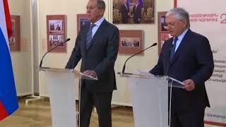 Открытие российско-армянской выставки и гашение армянской юбилейной марки в Ереване