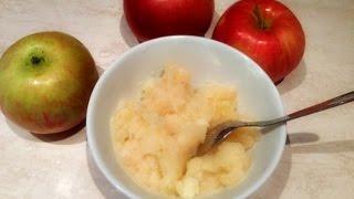 Яблоки в пароварке для детей