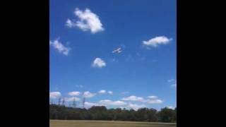 First and last flight of Super Sonic 9399 R/C plane