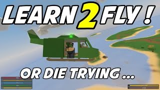UNTURNED - Aircraft Lessons Gone Bad! (Multiplayer Co-op with ChimneySwift11!)