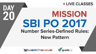 Number Series - Defined Rules: New Pattern | SBI PO 2017 Onl