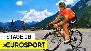 Tour de France 2019 | Stage 18 Highlights | Cycling | Eurosport