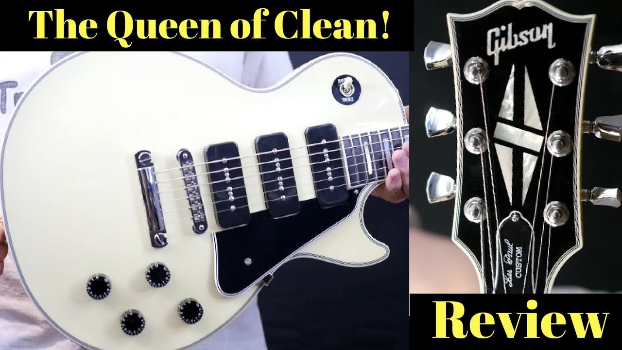 The QUEEN of CLEAN! 2018 Gibson Made to Measure 3 P90 Les Paul Custom on