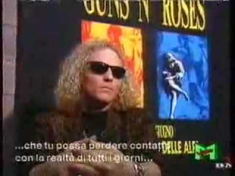 Guns N' Roses Mtv Special in italiano!!! parte 2