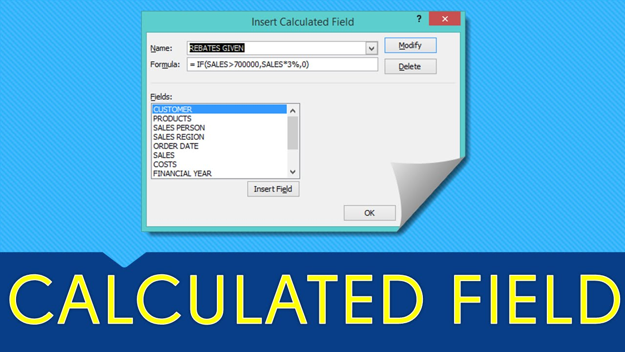 pivot table excel 2013 tutorial pdf
